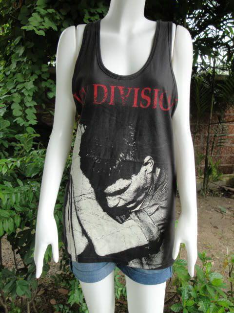 Ian Curtis Joy Division UK Indie Tank Top T Shirt S/M