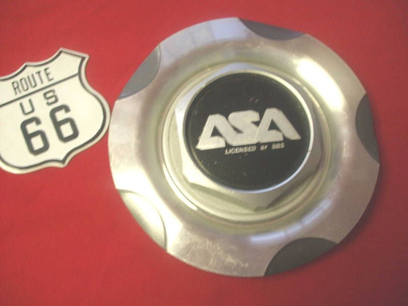 ASA LICENSED BY BBS SNAP ON TYPE OF WHEEL CENTER CAP HUB [P/N #8B.711