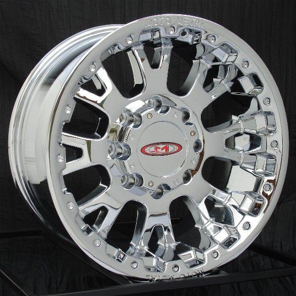 18 inch Chrome Wheels/Rims Chevy HD Dodge Ram H2 8 Lug
