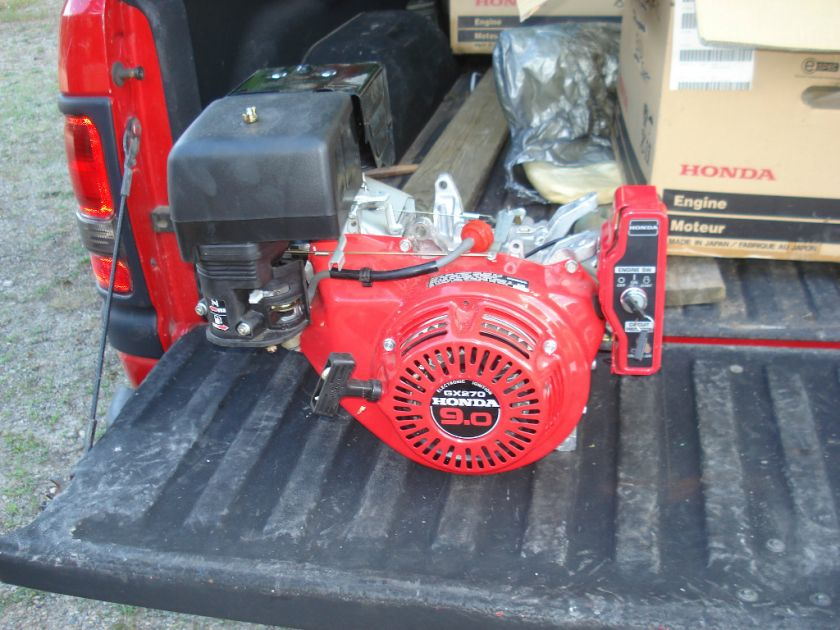 Honda 9.0 HP Engine, GX 270, Complete, Elect. Start, Engine #11
