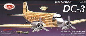 DC 3 Guillows Balsa Wood Model Airplane Ki #804 |