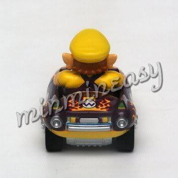Japan Nintendo Super Mario Kart Car Figure   Wario ^