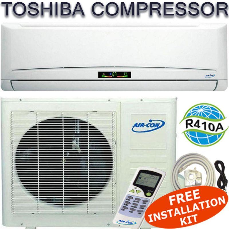 18000 BTU Ductless Mini Split Air Conditioner Heat Pump